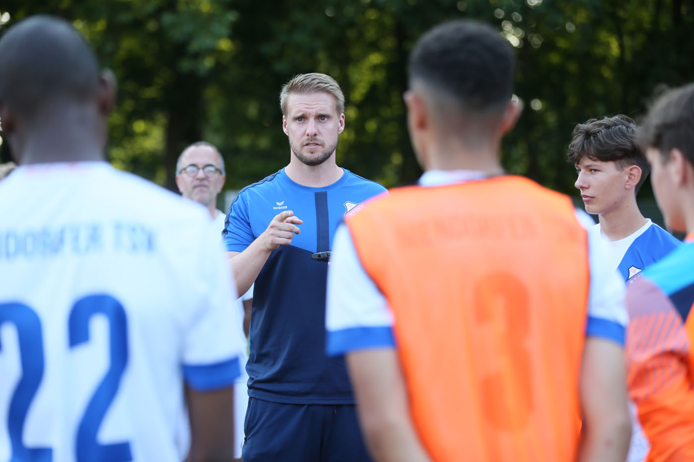 Heiko Knispel bleibt U17 Trainer beim Niendorfer TSV